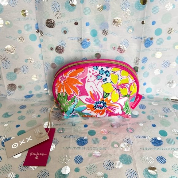 LILLY PULITZER SMALL MAKE UP BAG NWT!